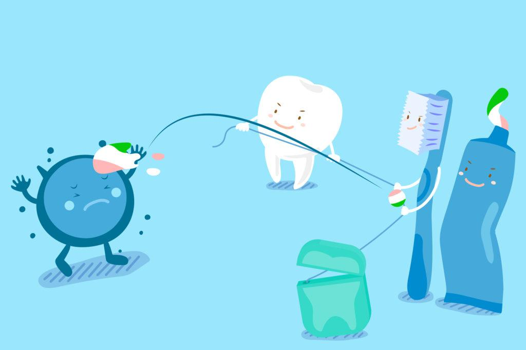 tooth with health concept