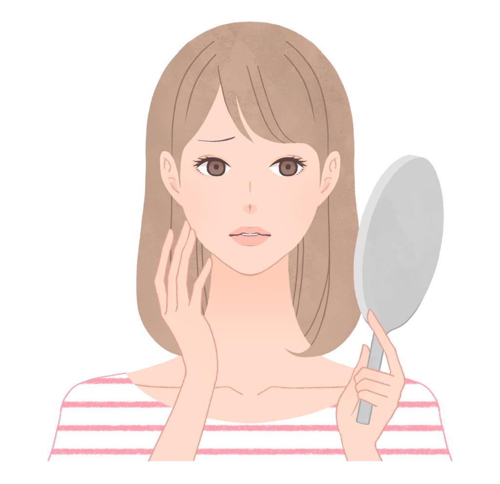 空隙歯列の影響で顔にコンプレックスを持つ女性
