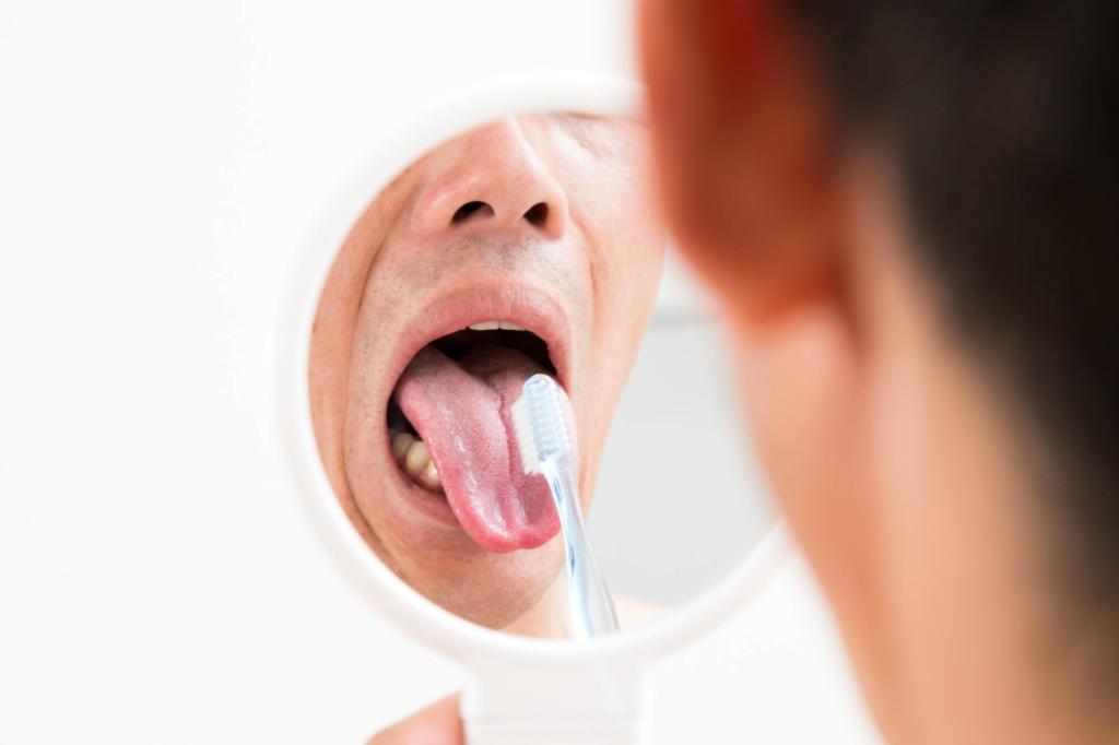 下 口内炎 の ベロ